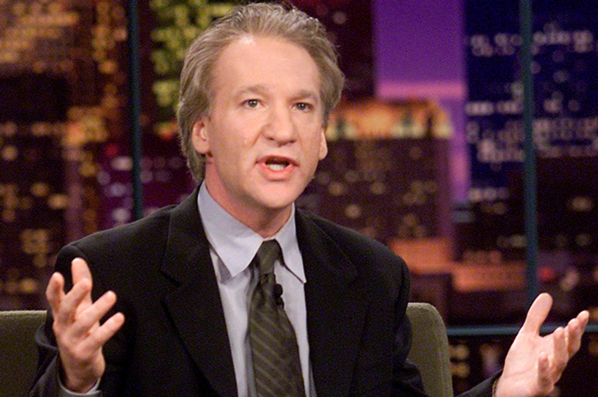 """Bill Maher on """"The Tonight Show with Jay Leno,"""" Sept. 21, 2001.   (Getty/Kevin Winter)"""