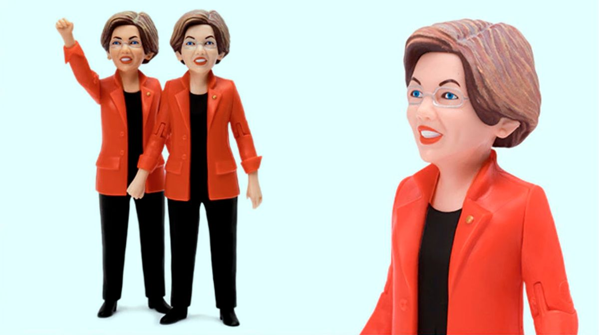 Elizabeth Warren Action Figure (Kickstarter/FCTRY)