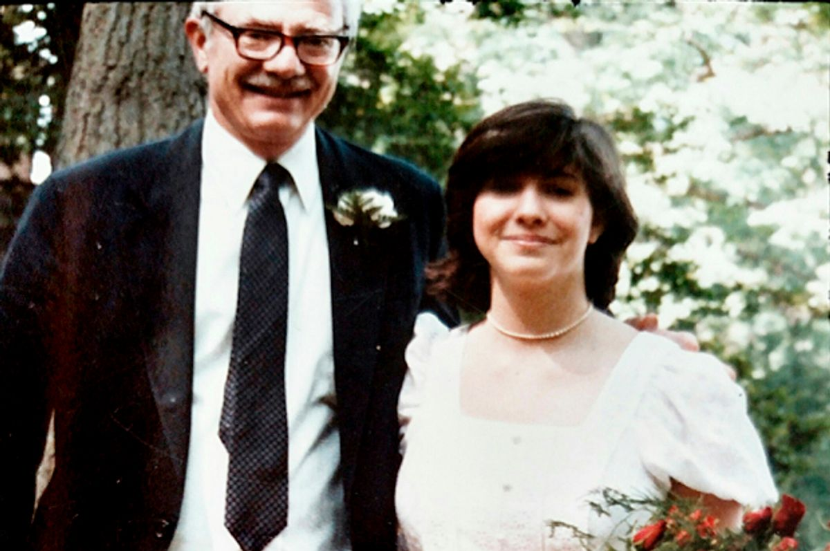 The author and her father (Courtesy of the author)
