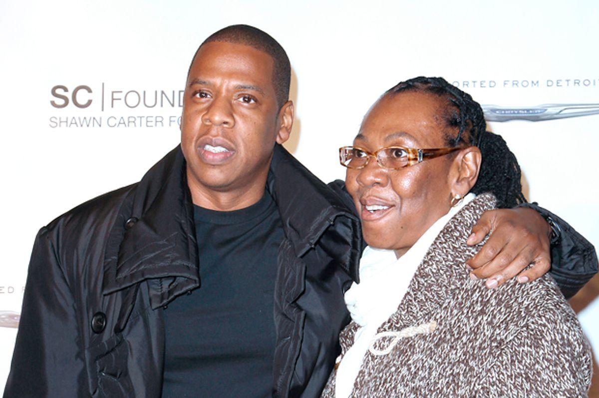 """Shawn """"Jay Z"""" Carter; Gloria Carter   (AP/Kristina Bumphrey)"""