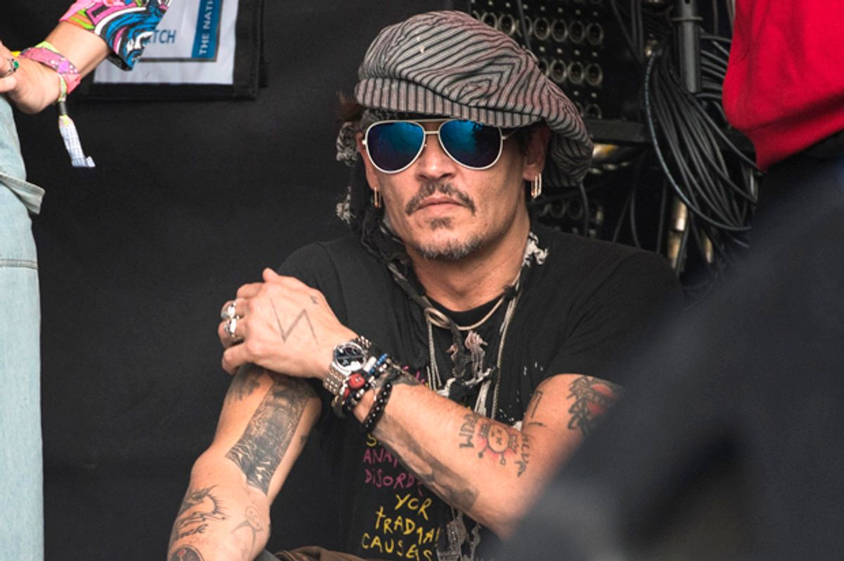 Johnny Depp   (Getty/Ian Gavan)