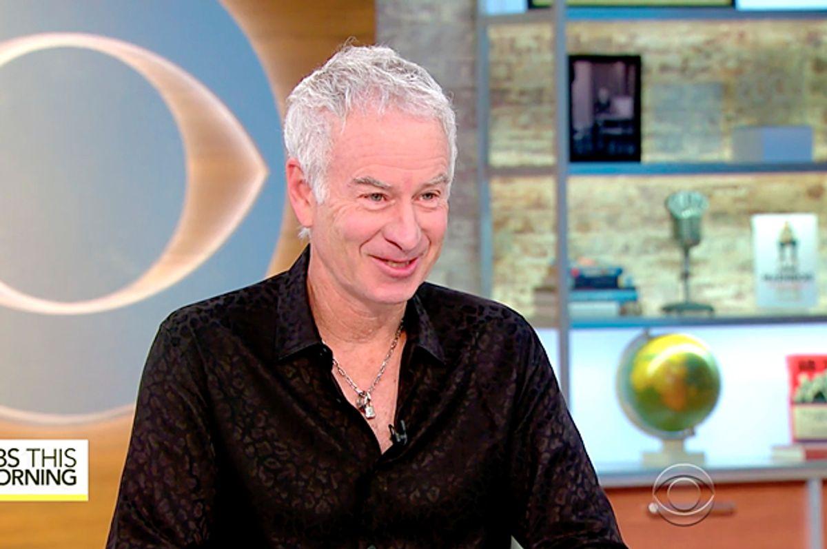 John McEnroe (CBS)