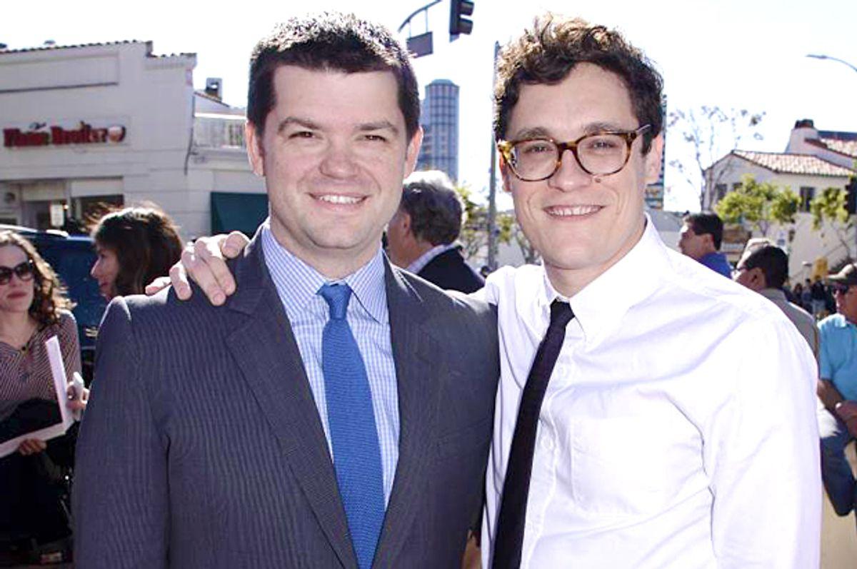 Directors Christopher Miller and Phil Lord (AP/Dan Steinberg)