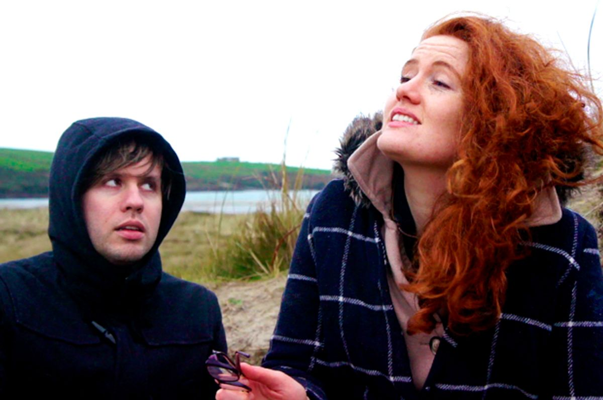 """Eoghan McQuinn and Valerie Ni Loinsigh in """"Notions"""" (Image courtesy of Hell or High Water Films)"""