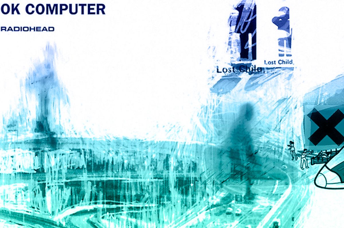 OK Computer by Radiohead   (Parlophone/Salon)