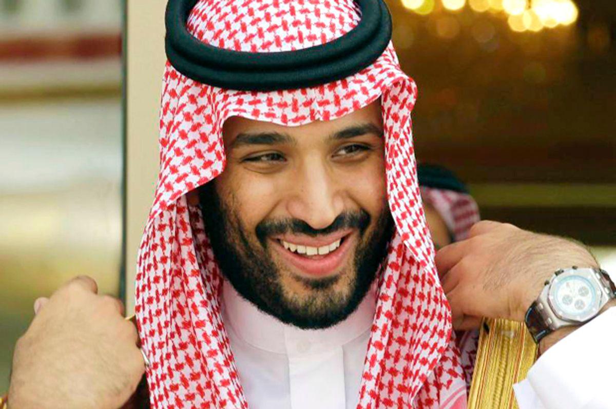Mohammed bin Salman   (AP/Hassan Ammar)