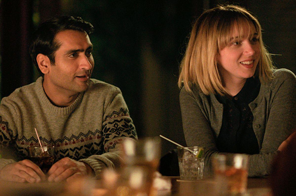 "Kumail Nanjiani as Kumail and Zoe Kazan as Emily in ""The Big Sick"" (Photo courtesy of Amazon Studios)"