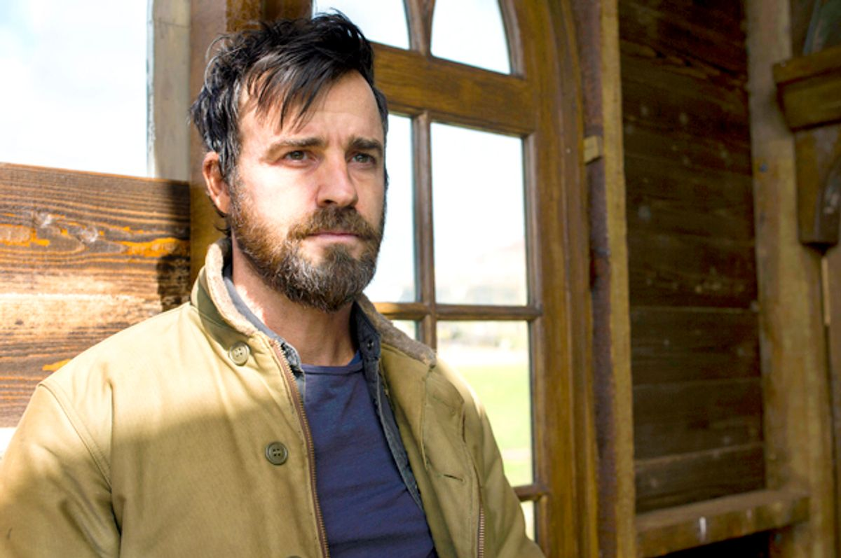 """Justin Theroux as Kevin Garvey, Jr. in """"The Leftovers"""" (HBO/Ben King)"""