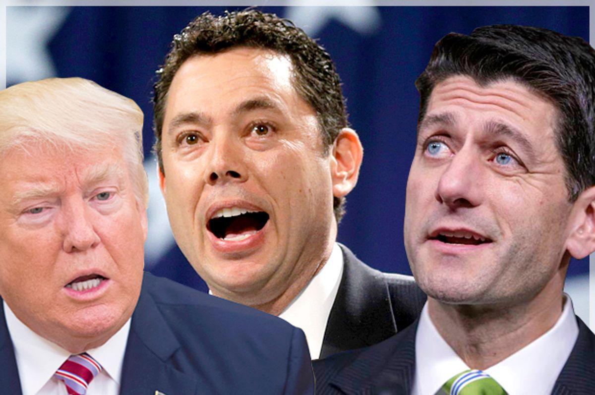 Donald Trump; Jason Chaffetz; Paul Ryan   (Getty/Molly Riley/AP/Rick Bowmer/J. Scott Applewhite/Montage by Salon)