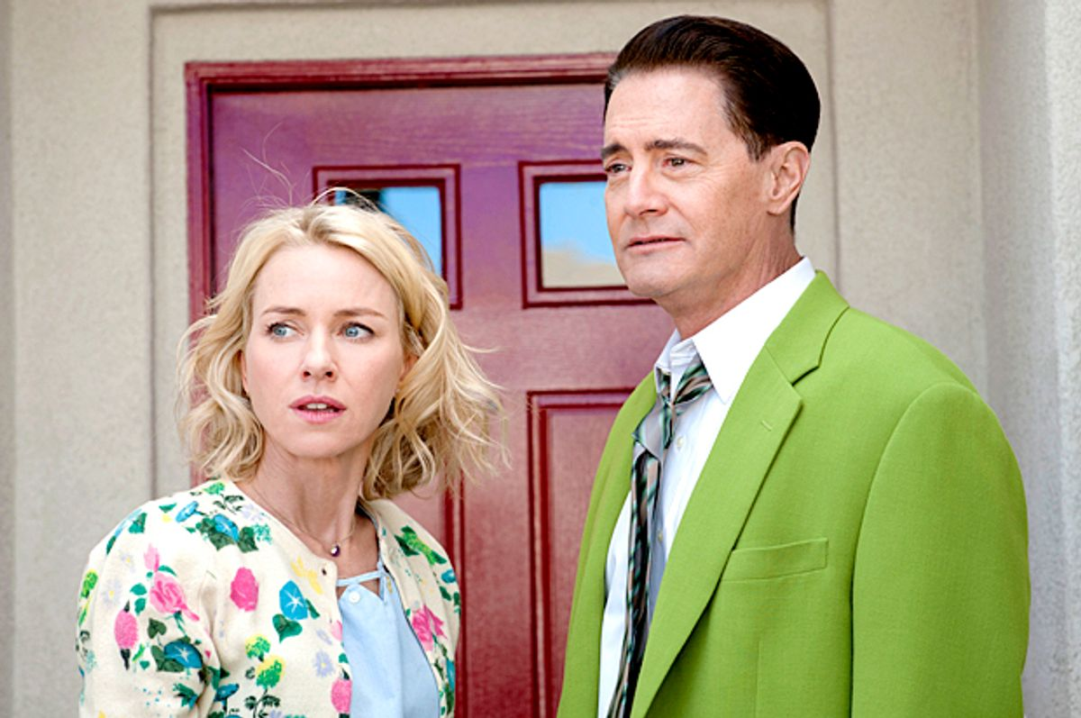 """Naomi Watts and Kyle MacLachlan in """"Twin Peaks"""" (Showtime/Suzanne Tenner)"""