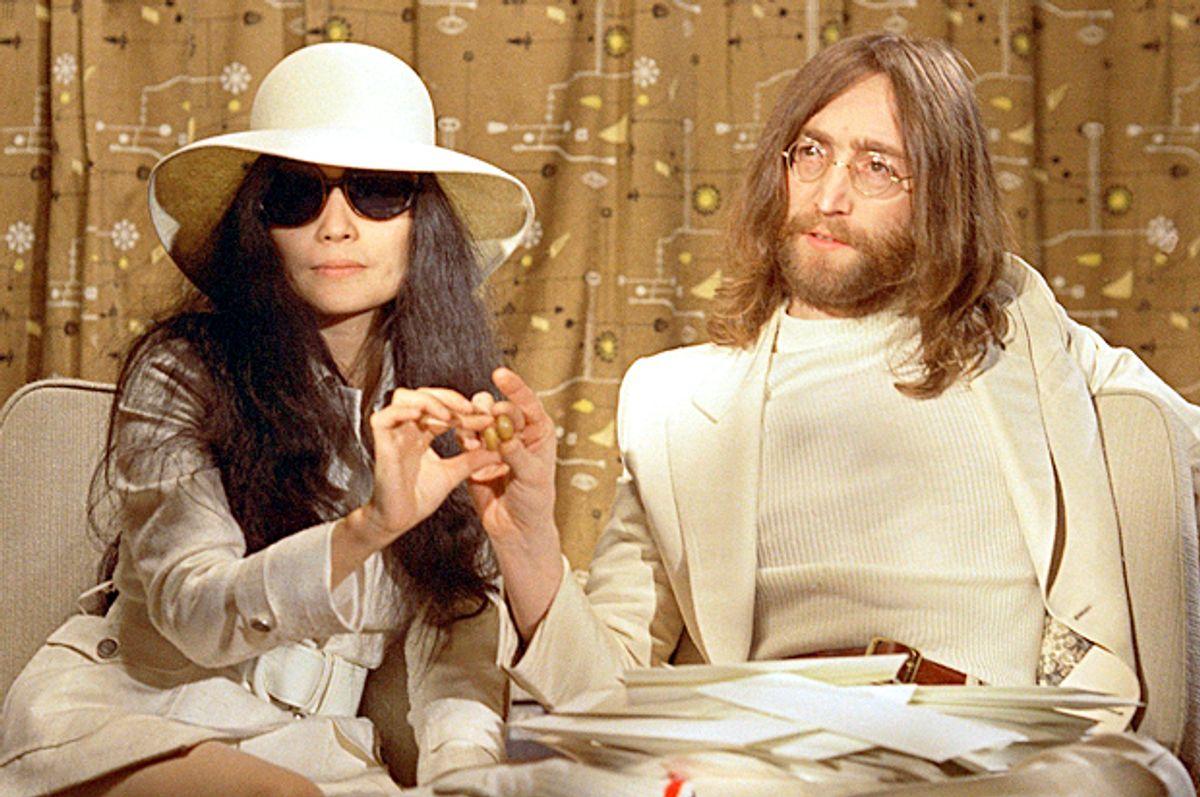 Yoko Ono; John Lennon   (AP)