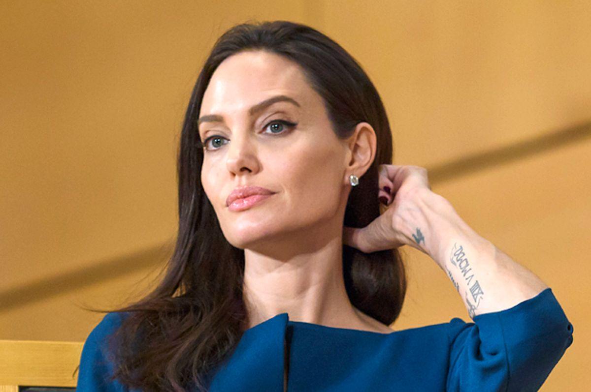 Angelina Jolie   (Getty/Fabrice Coffrini)