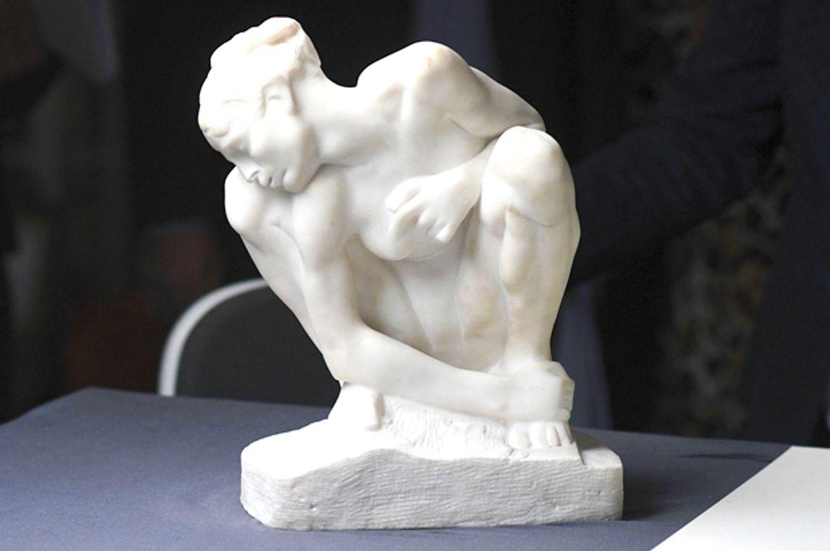 """Kauernde"" by Auguste Rodin (1840-1917) is part of Cornelius Gurlitt's art collection (AP/Henning Kaiser)"
