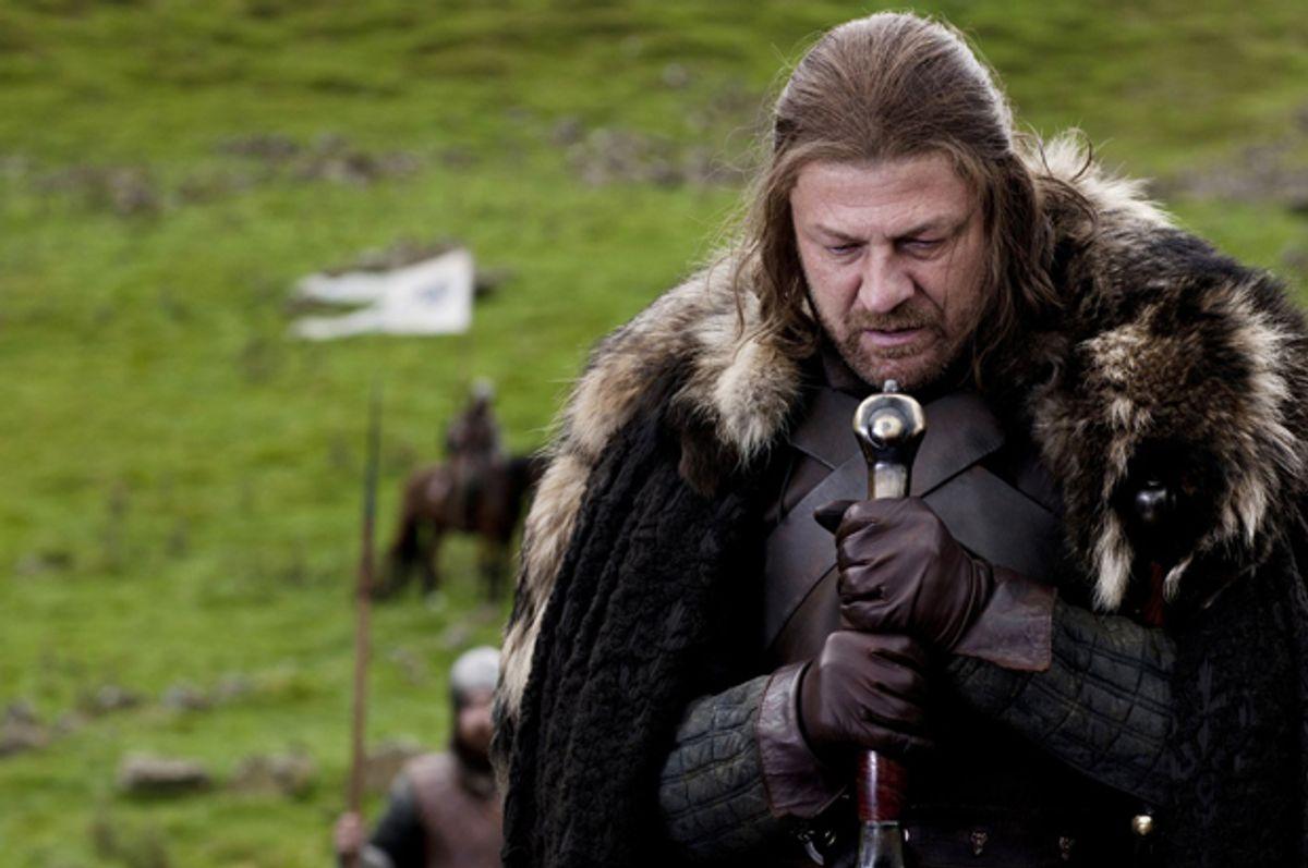 "Sean Bean as Eddard 'Ned' Stark in ""Game of Thrones""   (HBO)"