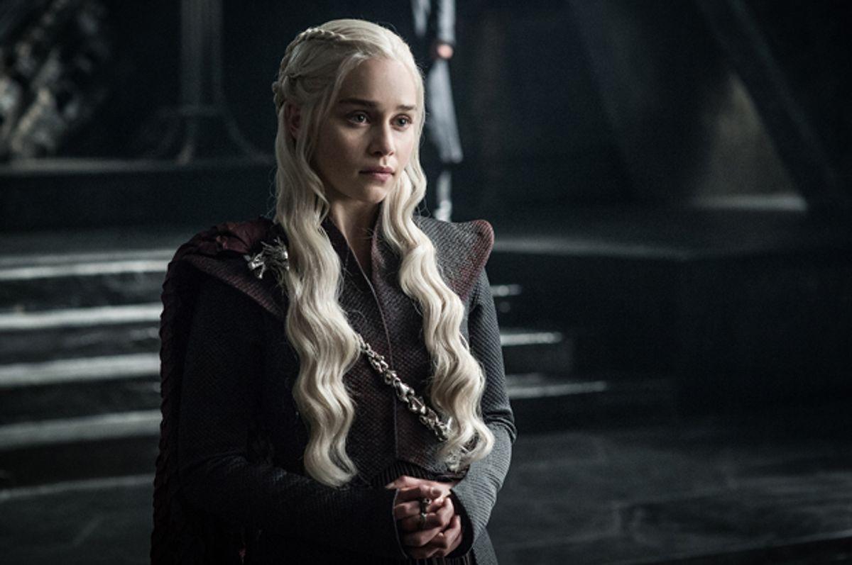 """Emilia Clarke as Daenerys Targaryen in """"Game of Thrones""""   (HBO/Helen Sloan)"""