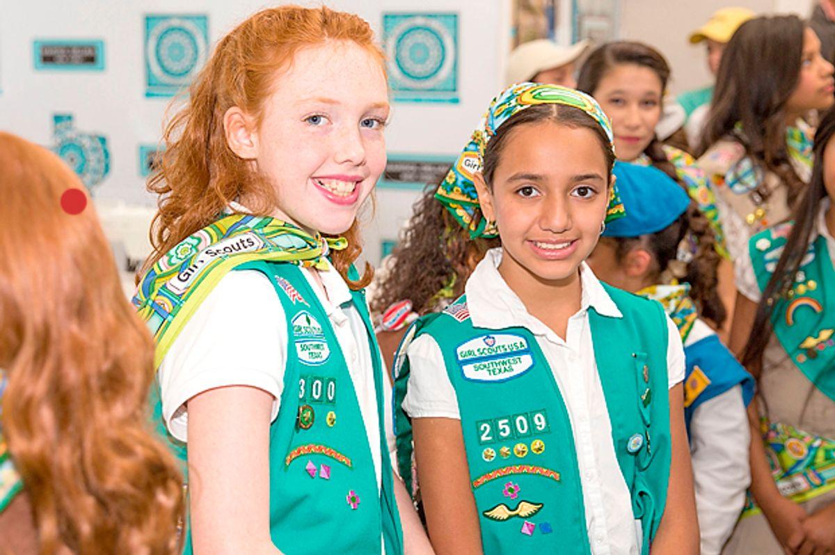 Girl Scouts   (Getty/Rick Kern)
