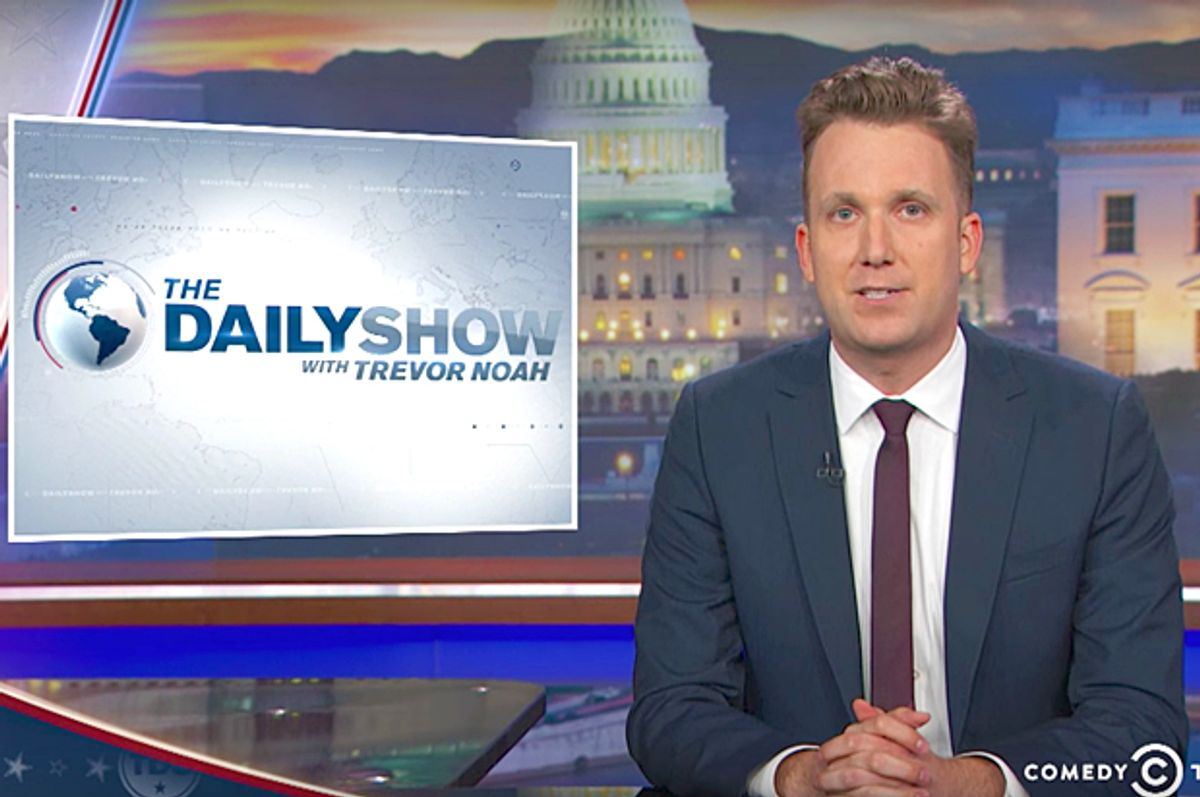 """Jordan Klepper on """"The Daily Show"""" (Comedy Central)"""