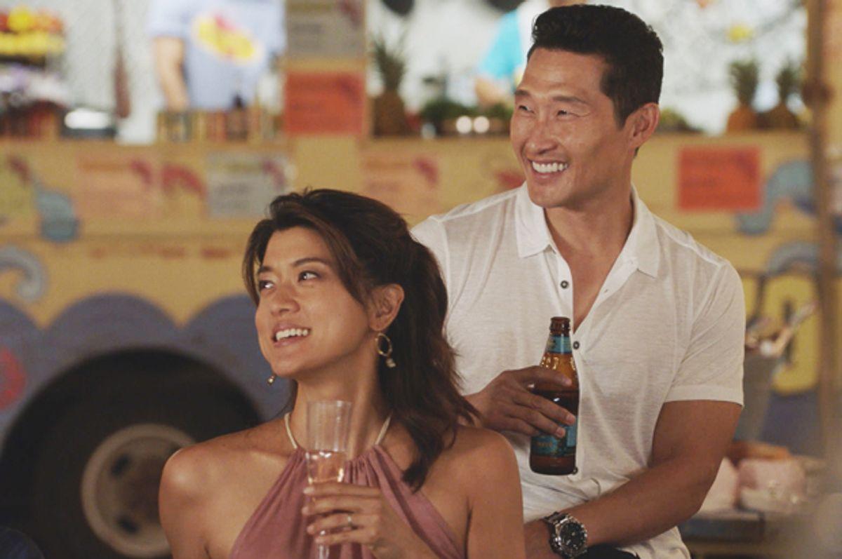 "Grace Park and Daniel Dae Kim in ""Hawaii Five-0""   (CBS Broadcasting)"