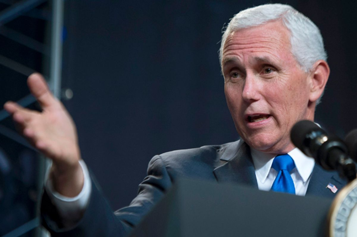 Mike Pence   (Getty/Bill Ingalls)