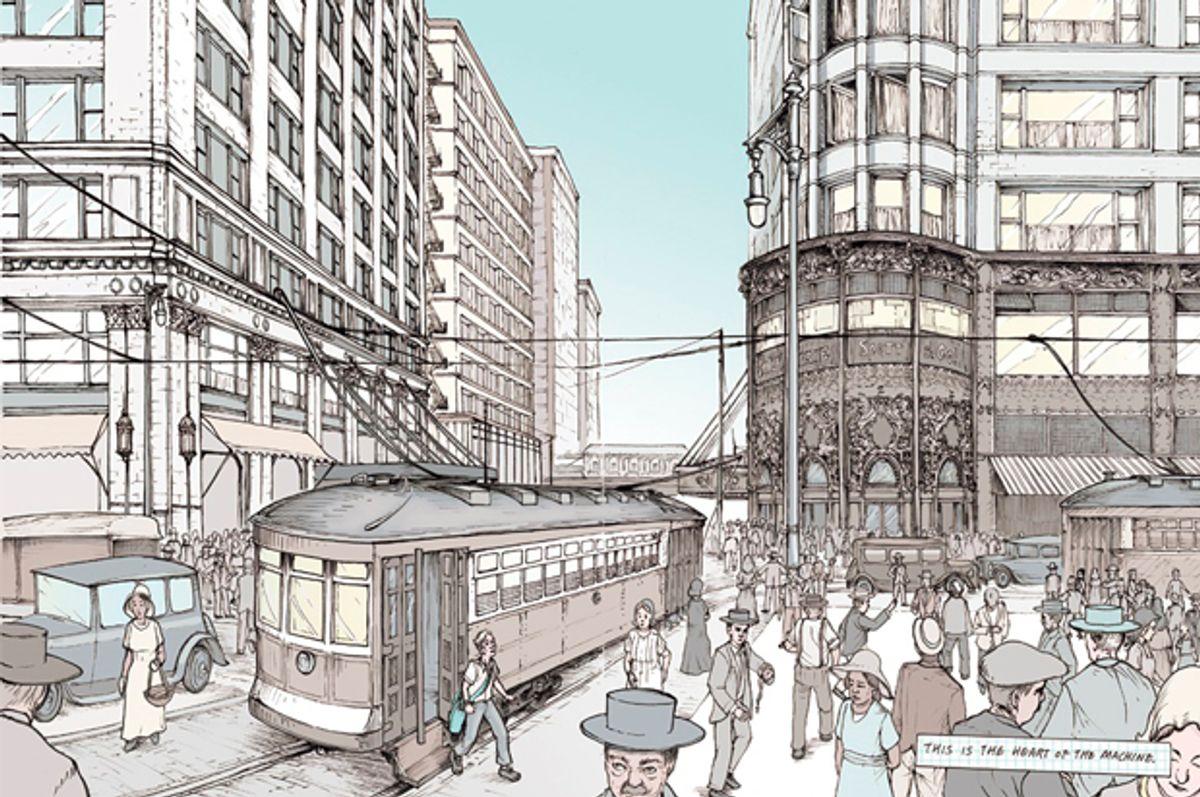 No Small Plans: A graphic novel adventure through Chicago (Chicago Architecture Foundation)