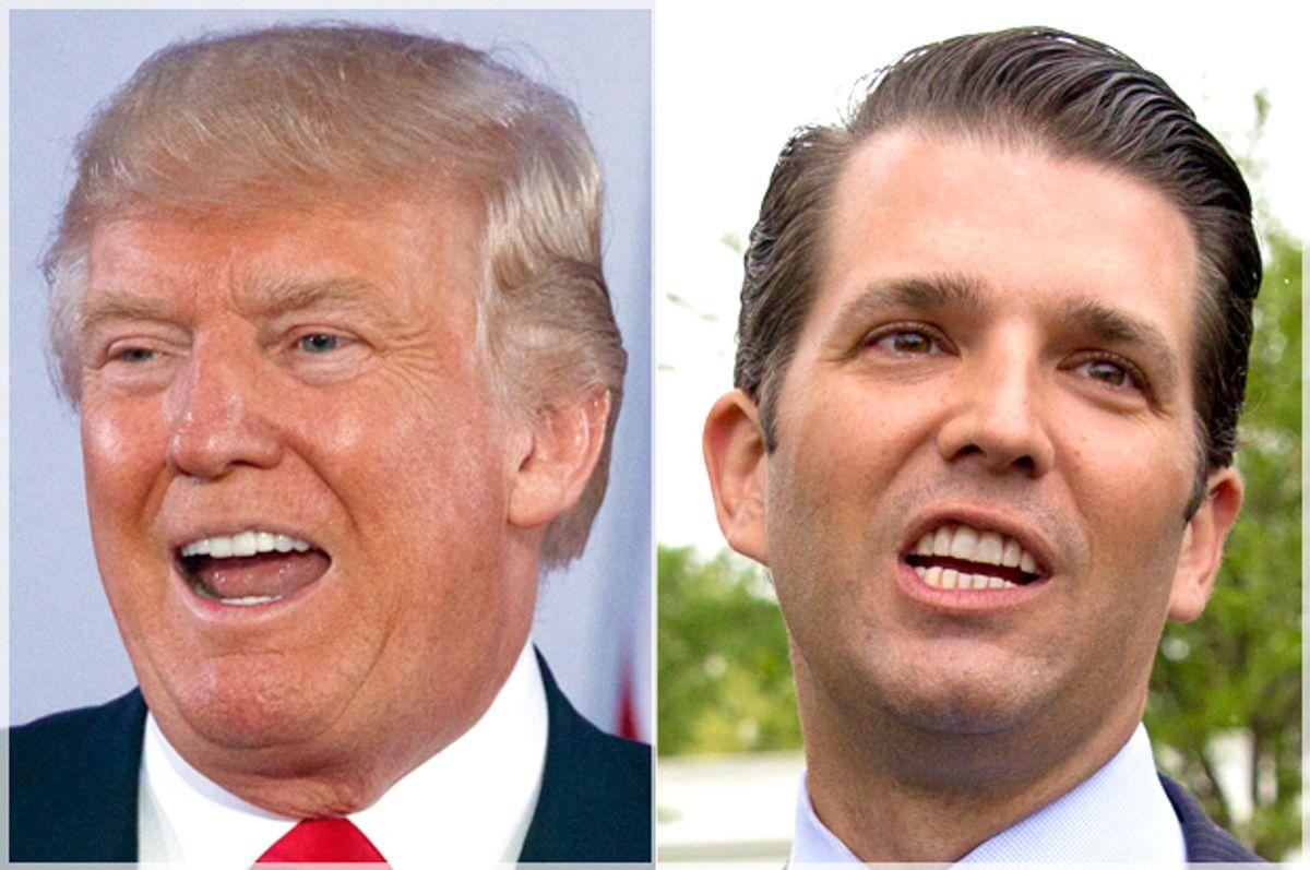 Donald Trump; Donald Trump Jr.   (AP/Evan Vucci/Carolyn Kaster)