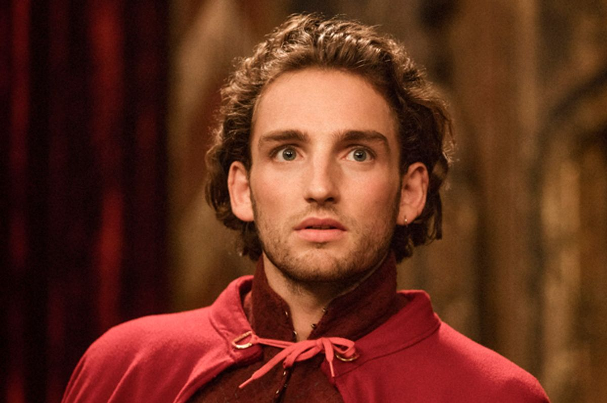 """Laurie Davidson as William Shakespeare  in """"Will"""" (TNT/Aidan Monaghan)"""