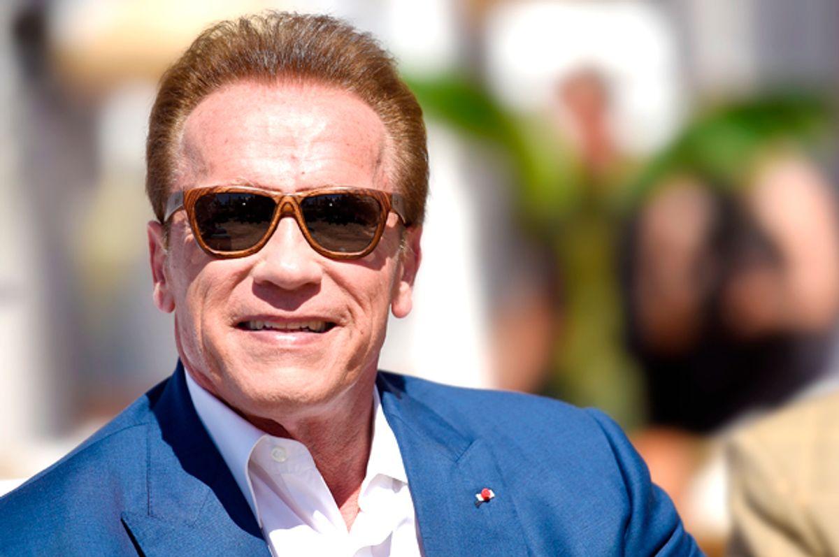 Arnold Schwarzenegger   (Getty/Antony Jones)