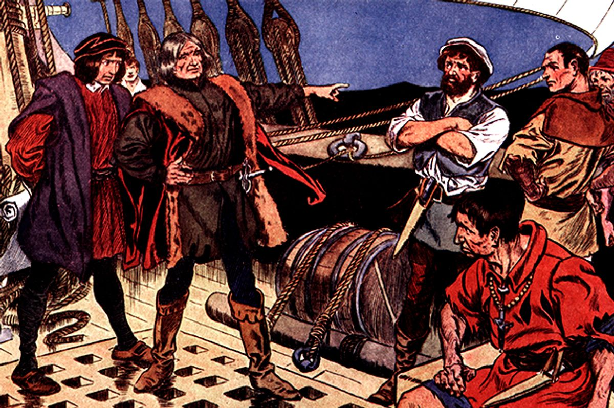 Christopher Columbus (Getty/Hulton Archive / Stringer)