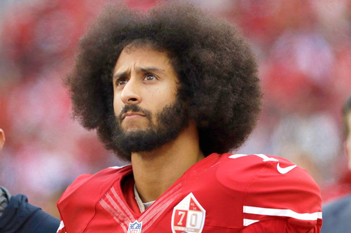 San Francisco 49ers quarterback Colin Kaepernick (AP/Marcio Jose Sanchez)