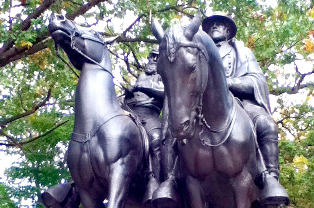 Stonewall Jackson and Robert E. Lee Monument (WikiMedia)