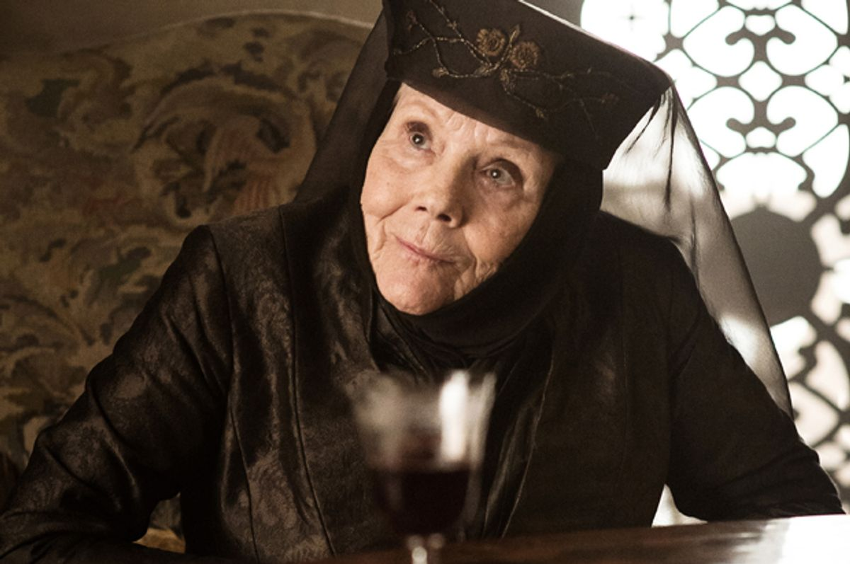 """Diana Rigg as Olenna Tyrell in """"Game of Thrones"""" (HBO/Helen Sloan)"""