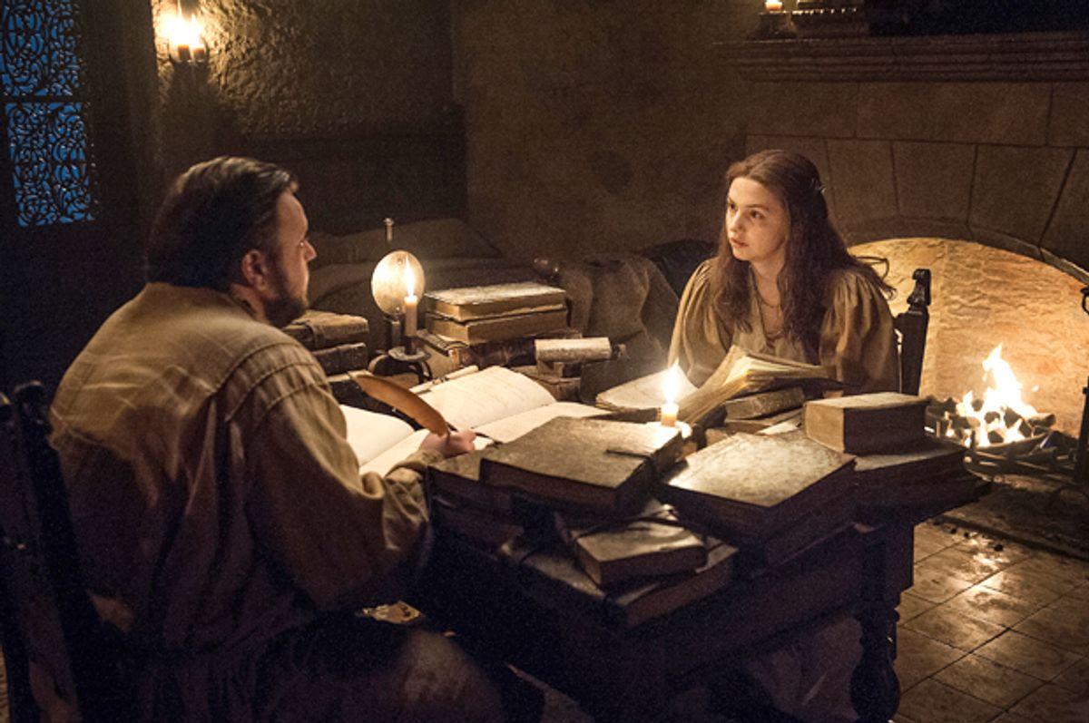 "John Bradley and Hannah Murray in ""Game of Thrones""   (HBO/Helen Sloan)"