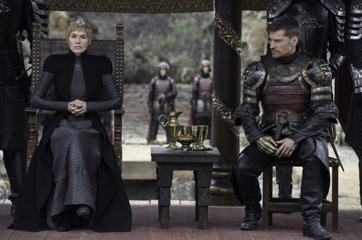 "Lena Headey and Nikolaj Coster-Waldau in ""Game of Thrones"" (HBO/Macall B. Polay)"