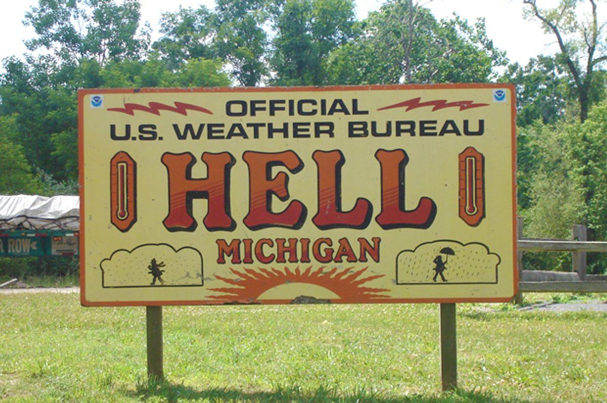 Hell, Michigan (Wikimedia)