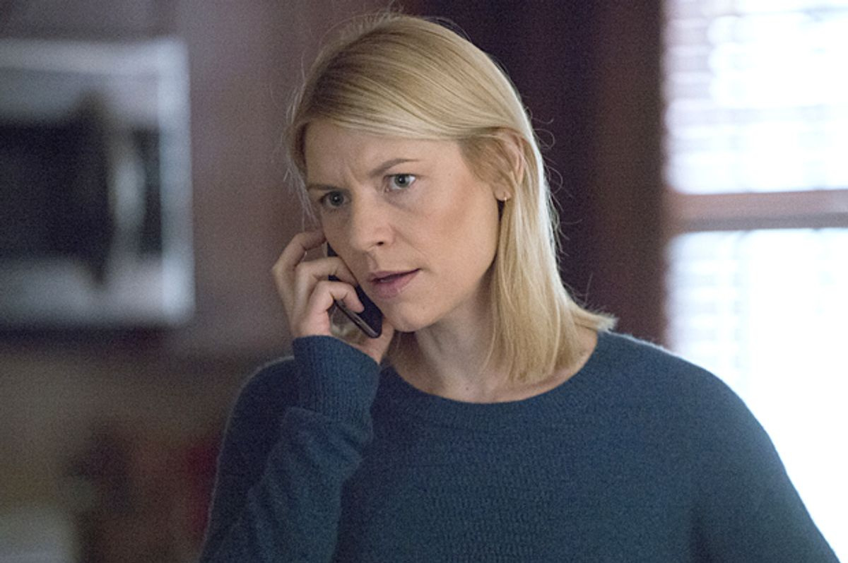 """Claire Danes as Carrie Mathison in """"Homeland""""   (Showtime/Jojo Whilden)"""