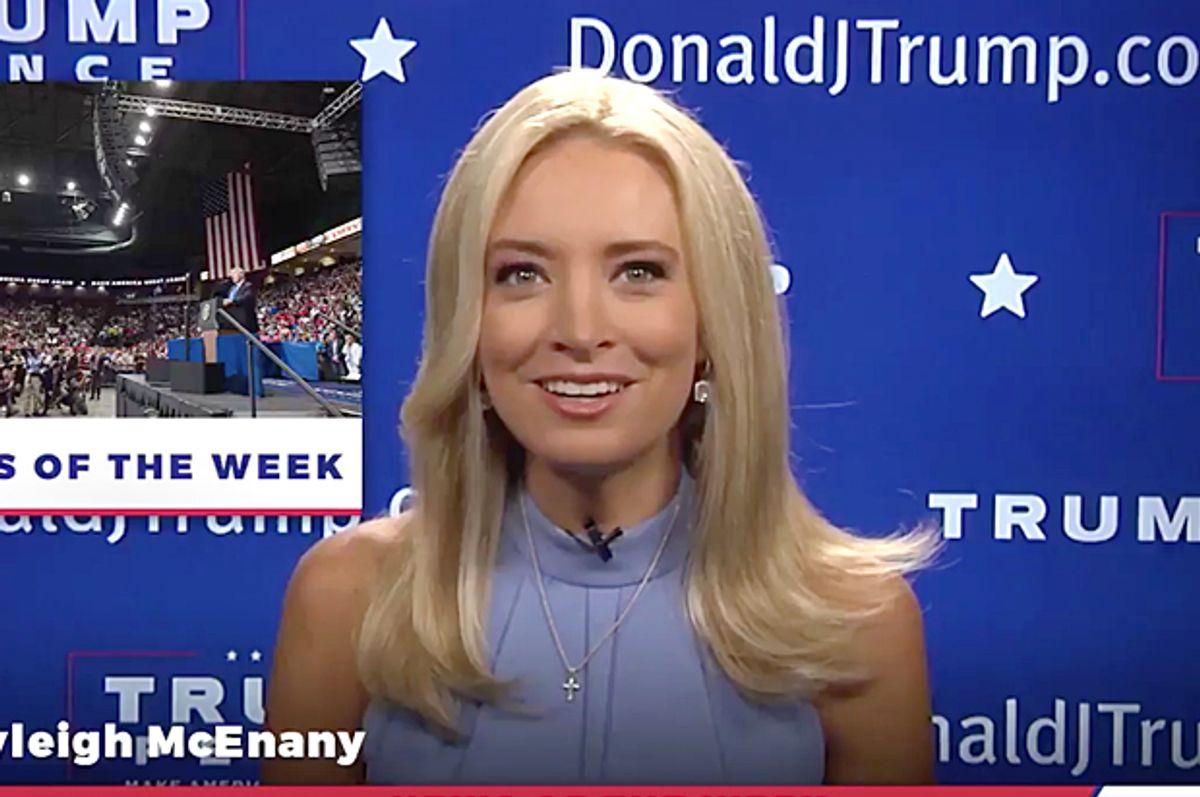 Kayleigh McEnany (Twitter/Team Trump)