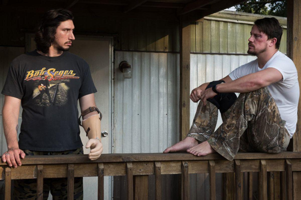 """Adam Driver and Channing Tatum in """"Logan Lucky"""" (Fingerprint Releasing)"""