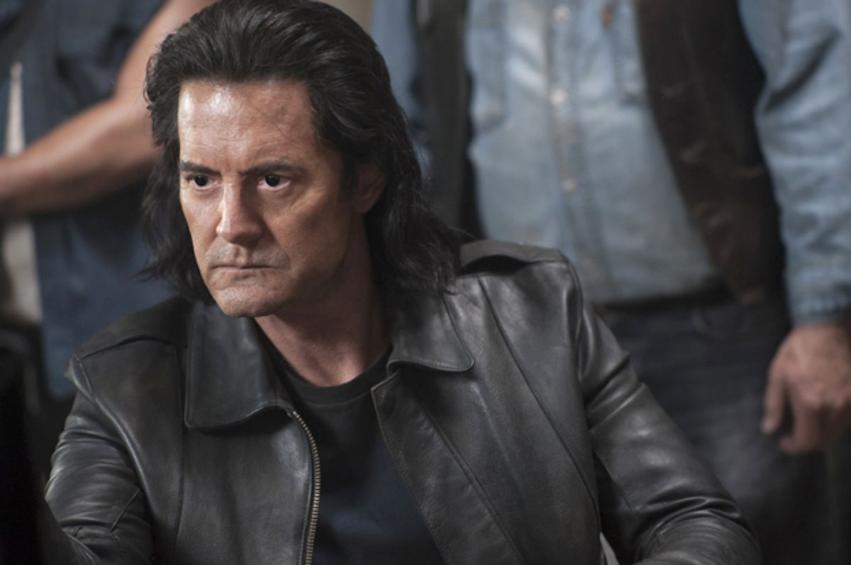 """Kyle MacLachlan in """"Twin Peaks"""" (Showtime/Suzanne Tenner)"""