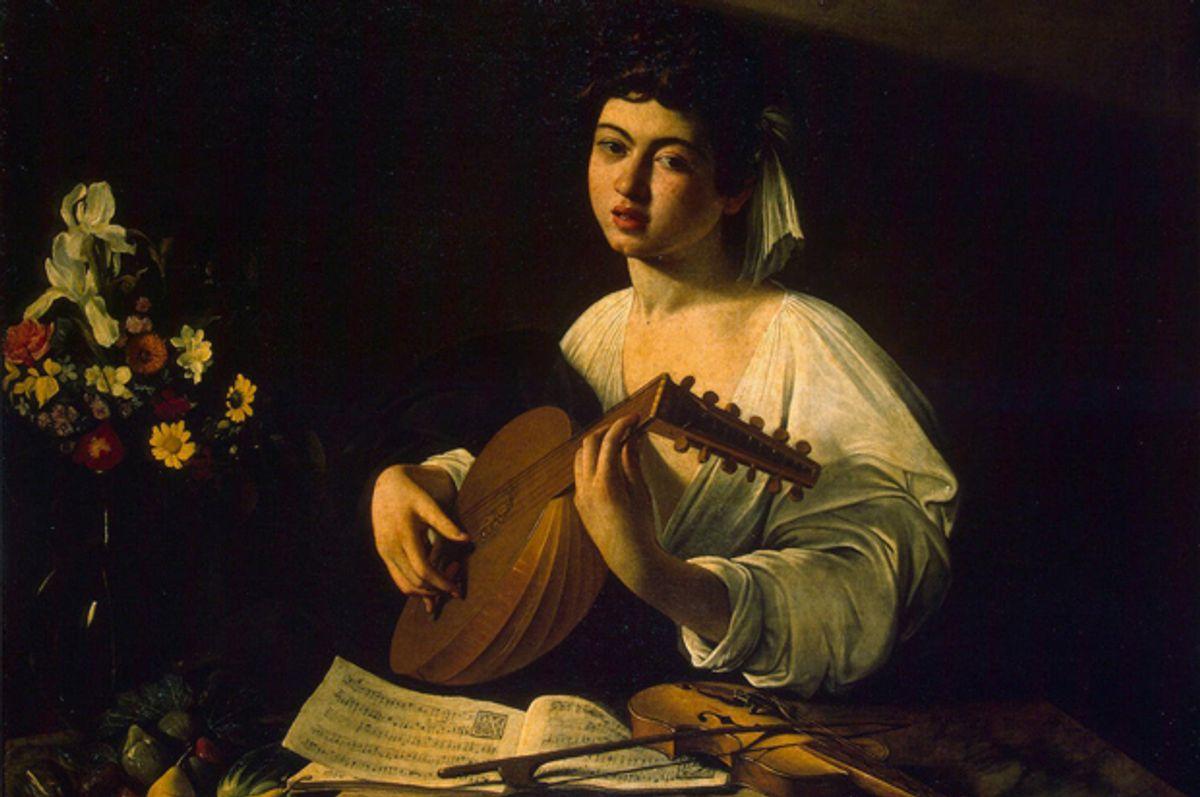 """The Lute Player"" by Michelangelo Merisida Caravaggio (Wikimedia)"