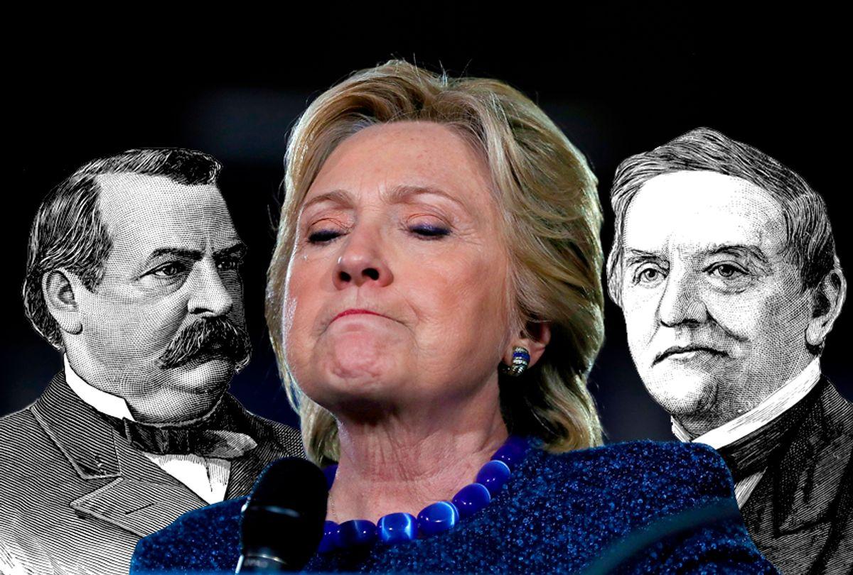 Grover Cleveland; Hillary Clinton; Samuel Tilden   (Getty/Justin Sullivan/pictore/benoitb)