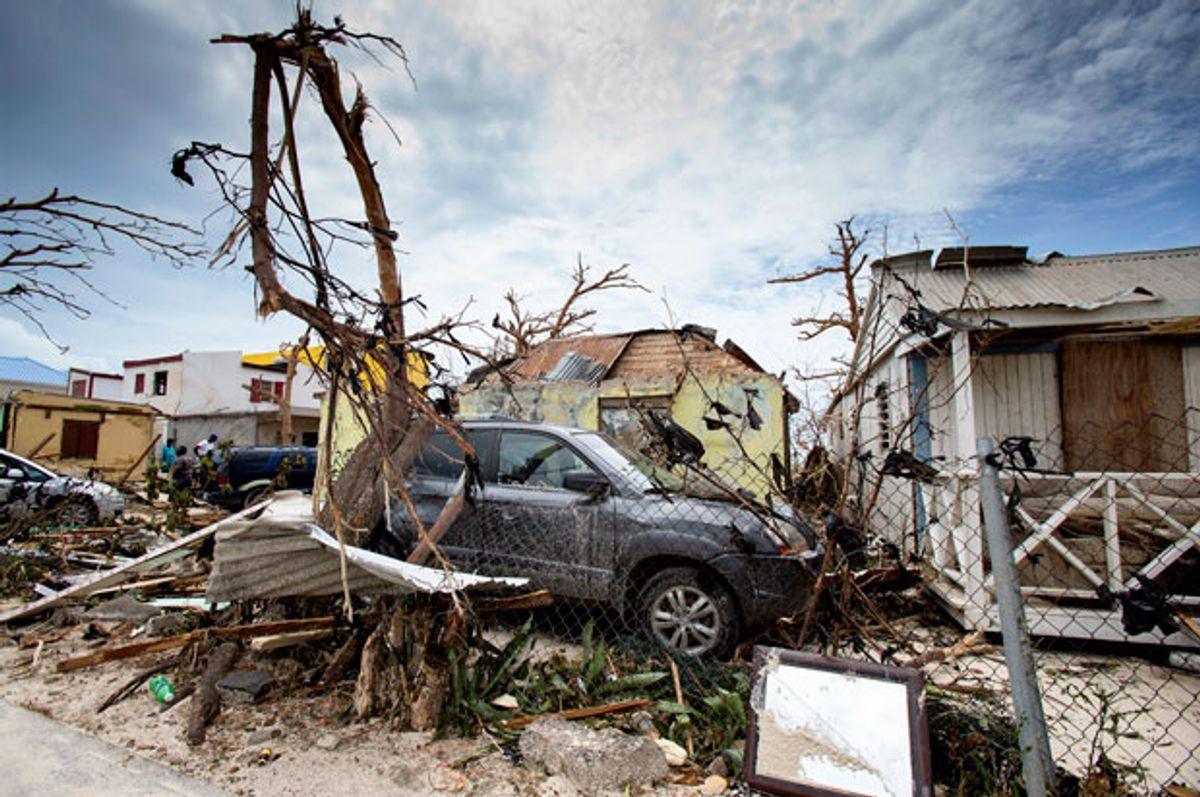 Destruction left after Hurricane Irma (Getty/Gerben Van Es)