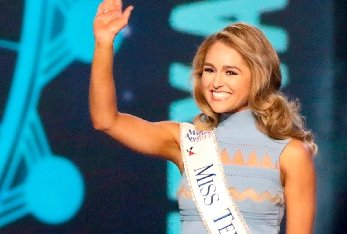 Miss Texas 2017 Margana Wood   (Getty/Donald Kravitz)