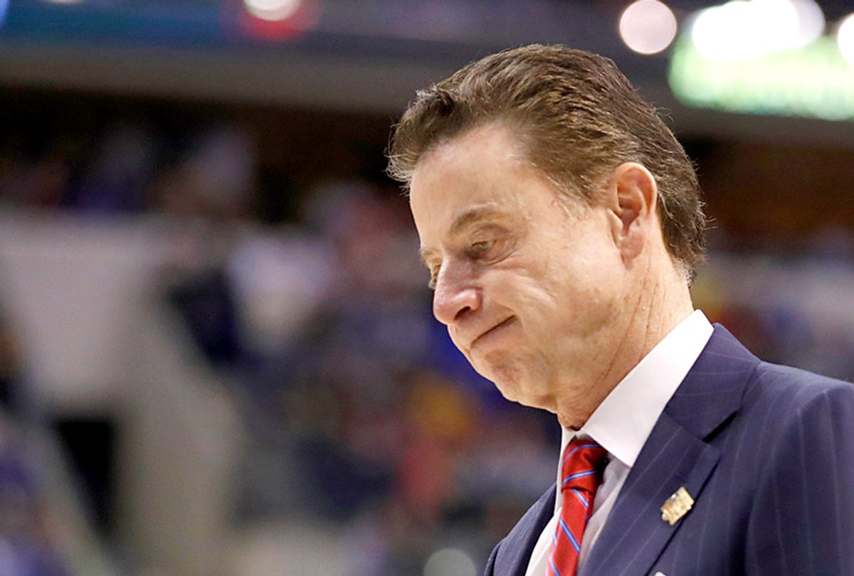 Rick Pitino, Louisville head coach (AP/Jeff Roberson)