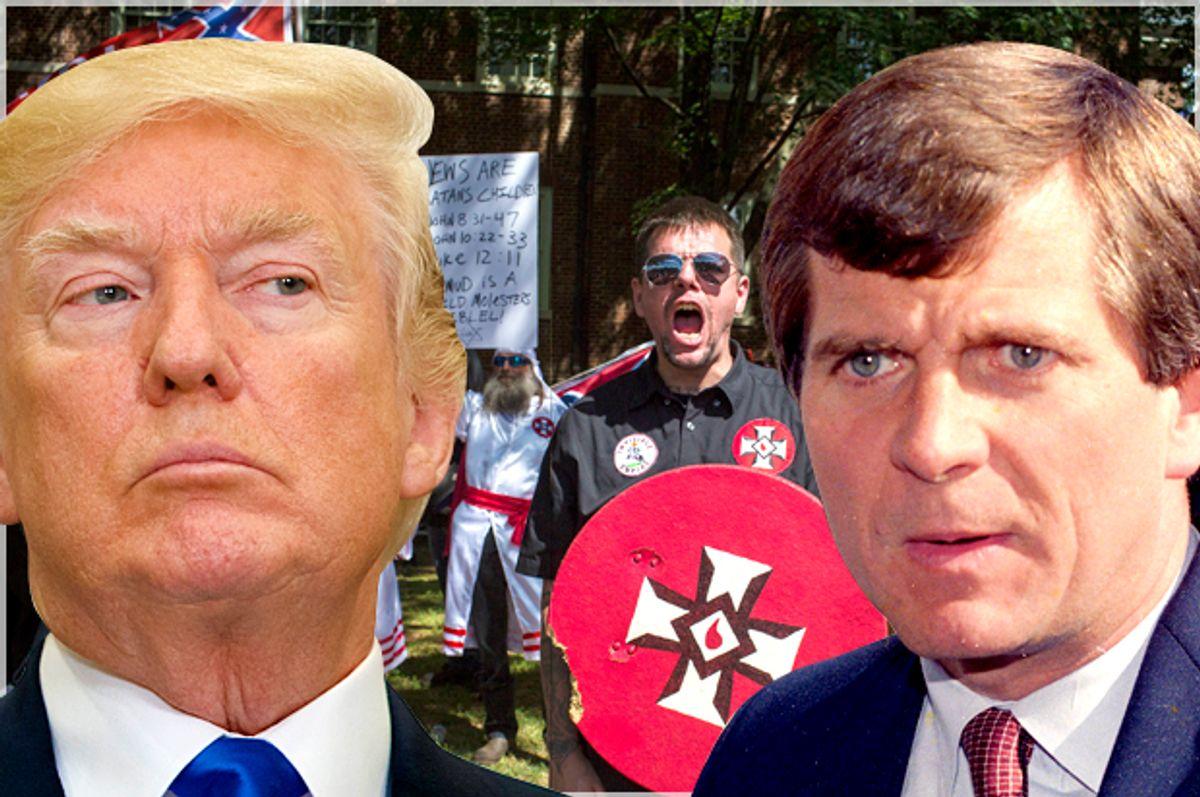 Donald Trump; Lee Atwater   (AP/Evan Vucci/Getty/Chet Strange)