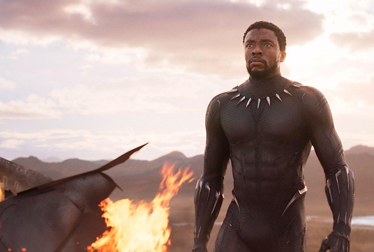"Chadwick Boseman as T'Challa/ Black Panther in ""Black Panter"" (Marvel Studios)"