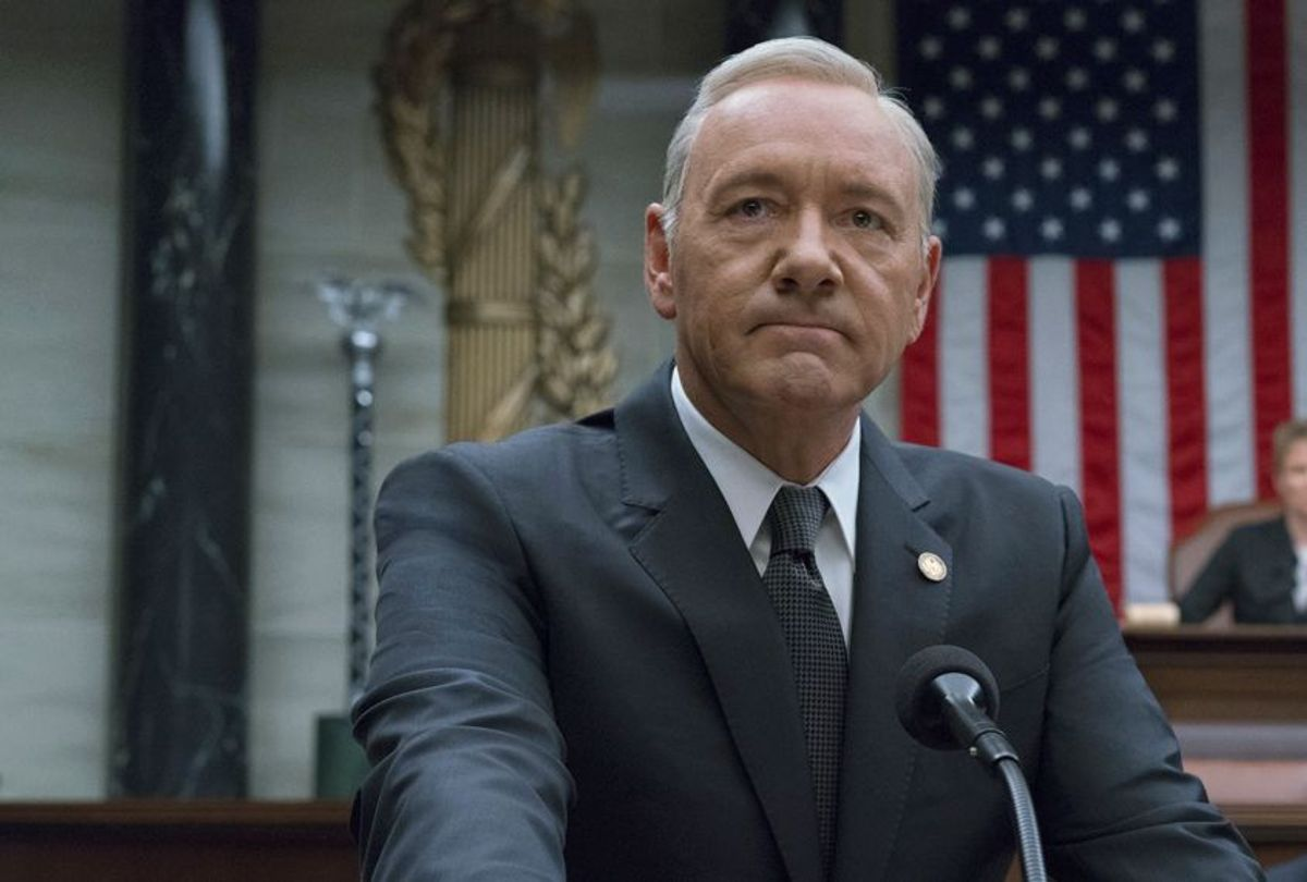 """Kevin Spacey in """"House of Cards"""" (Netflix/David Giesbrecht)"""