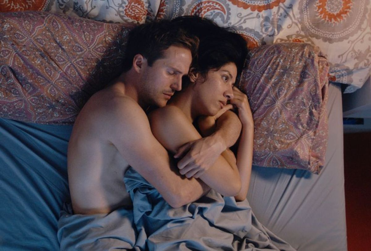"""Michael Stahl-David and Stephanie Beatriz in """"The Light of the Moon"""" (Imagination Worldwide / The Film Collaborative)"""