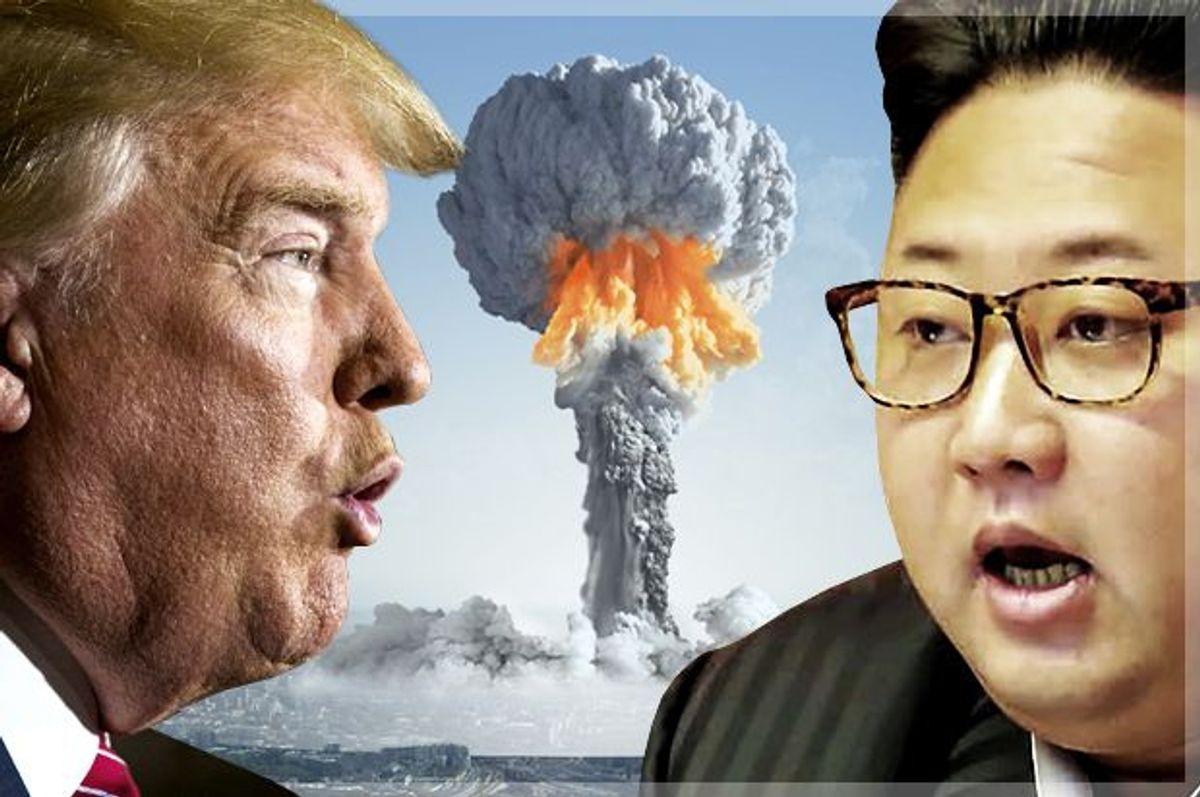 Donald Trump; Kim Jong-un   (Reuters/Lucas Jackson/Getty/KCNA/Salon)