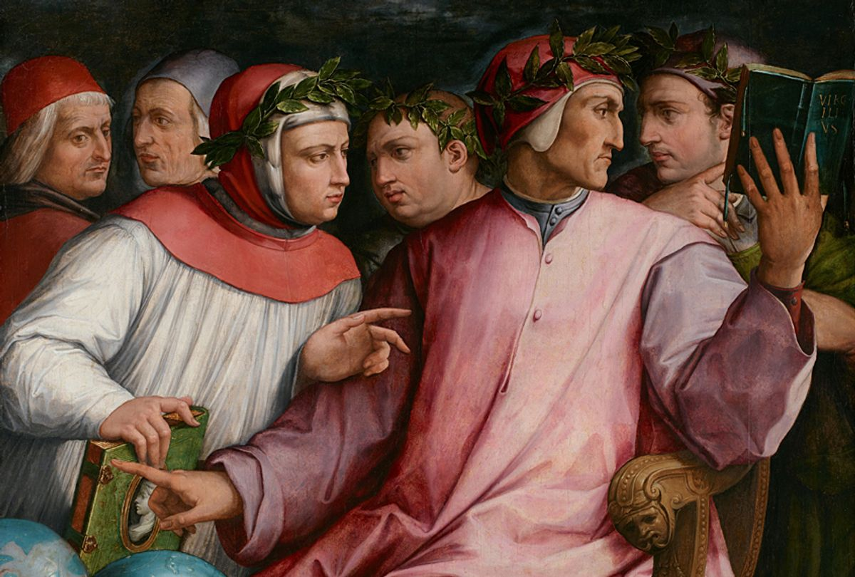 """""""Six Tuscan Poets"""" - Giorgio Vasari (Wikimedia)"""