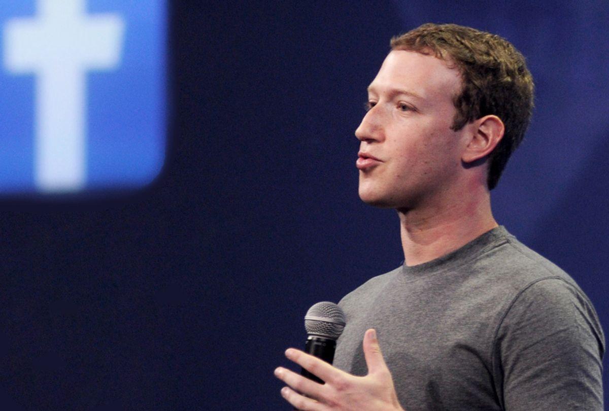 Facebook CEO Mark Zuckerberg (Getty/Josh Edelson)